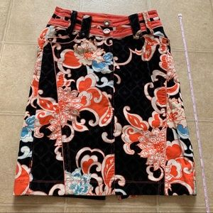 Colorful winter skirt